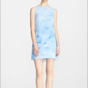 Alice + Olivia Sheila Cloud Print Dress Size L